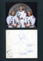 Apollo 11 In-Person Berlin autographs