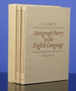 Autograph Poetry in the English Language
