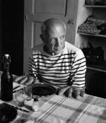 Pablo Picasso in seiner Handschrift