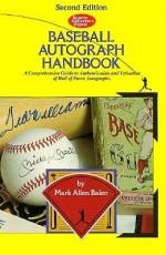 Baseball Autograph Handbook