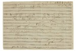 Beethoven's Emperor Concerto sketch beats estimate by 51%