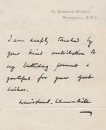 A brief guide to Winston Churchill facsimile letters