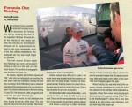 Autographmagazine 05/2010 Formula One Testing