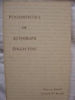 Fundamentals of autograph collecting