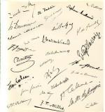 Autographes et manuscrits. Ventes Publiques 1982-1985. Analyses graphologiques par Anne-Marie Sallerin.